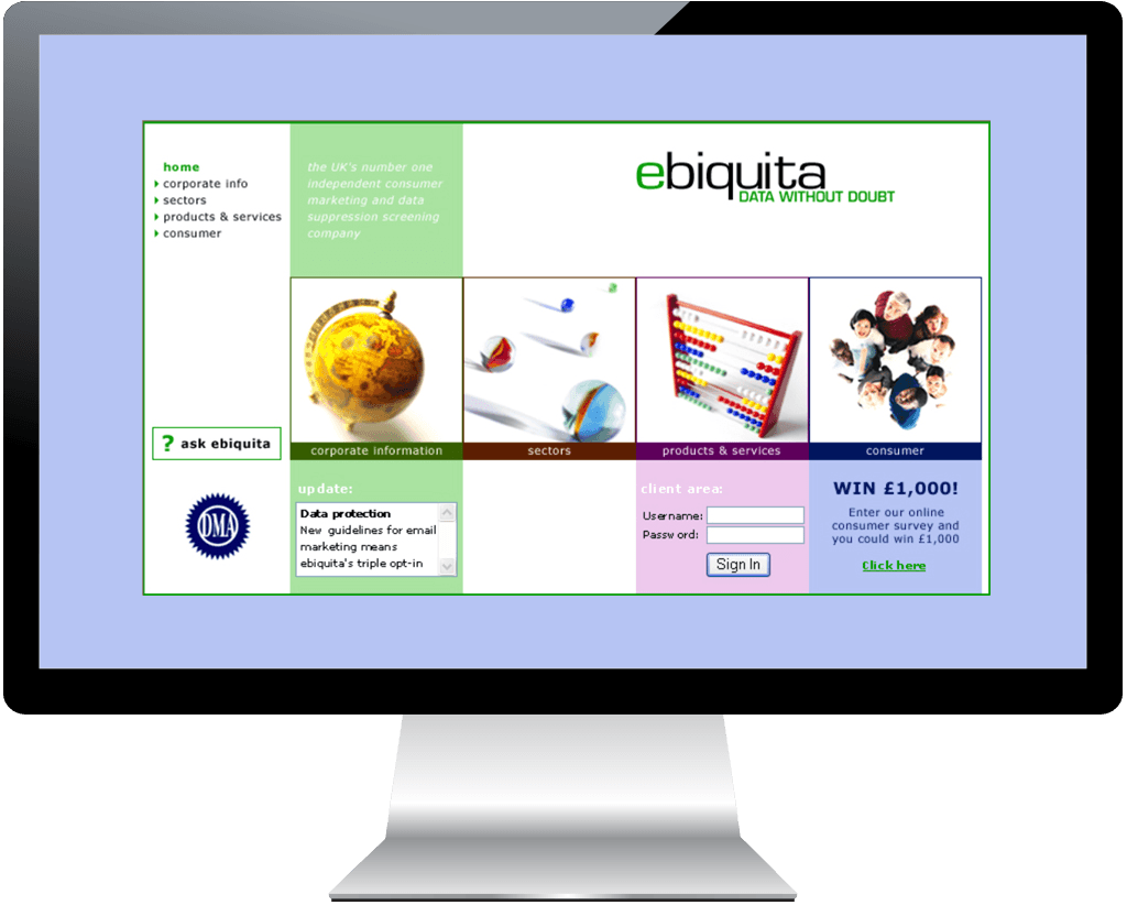 ebiquita-website