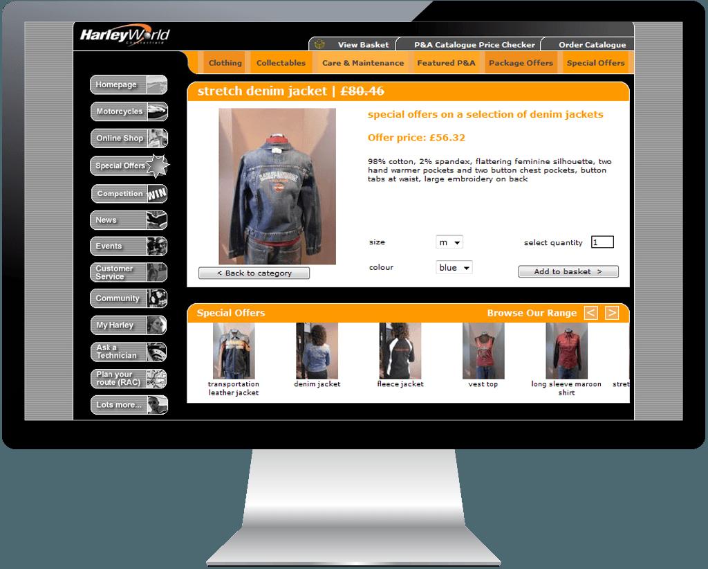 harleyworld-website