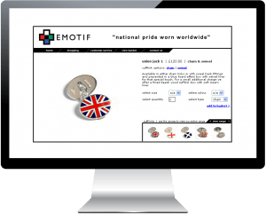 Patriotic Clothing & Accessories Ecommerce website launched for Emotif