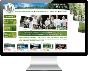 Charity website launched for Center Parcs