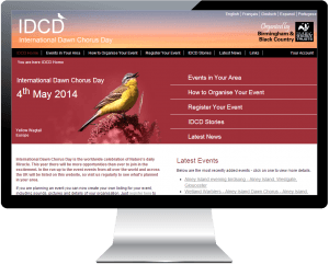 New IDCD website launched for the Wildlife Trust