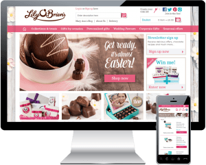 Lily O'Brien's E-Commerce Website
