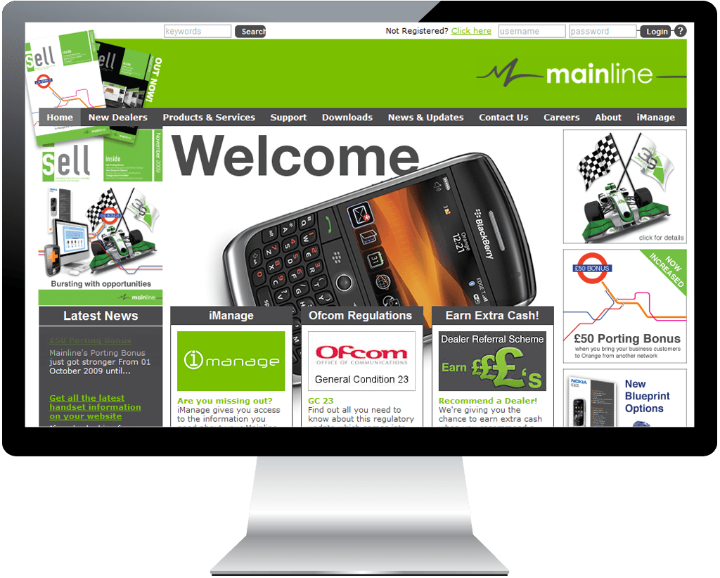 mainline-website